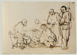 Rembrandt van Rijn, The Footwashing